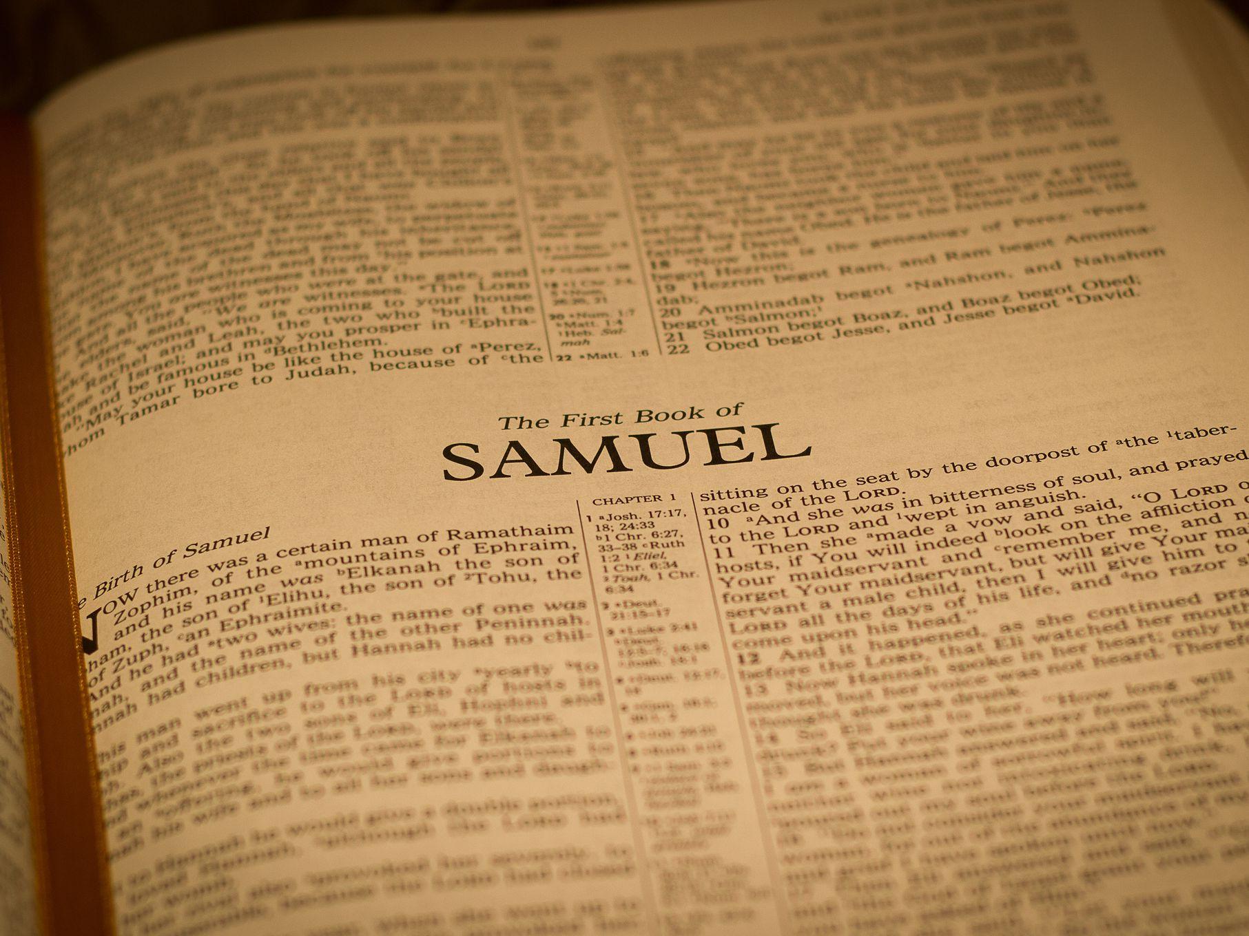 EL Antiguo testamento en audio Libro 1 Samuel