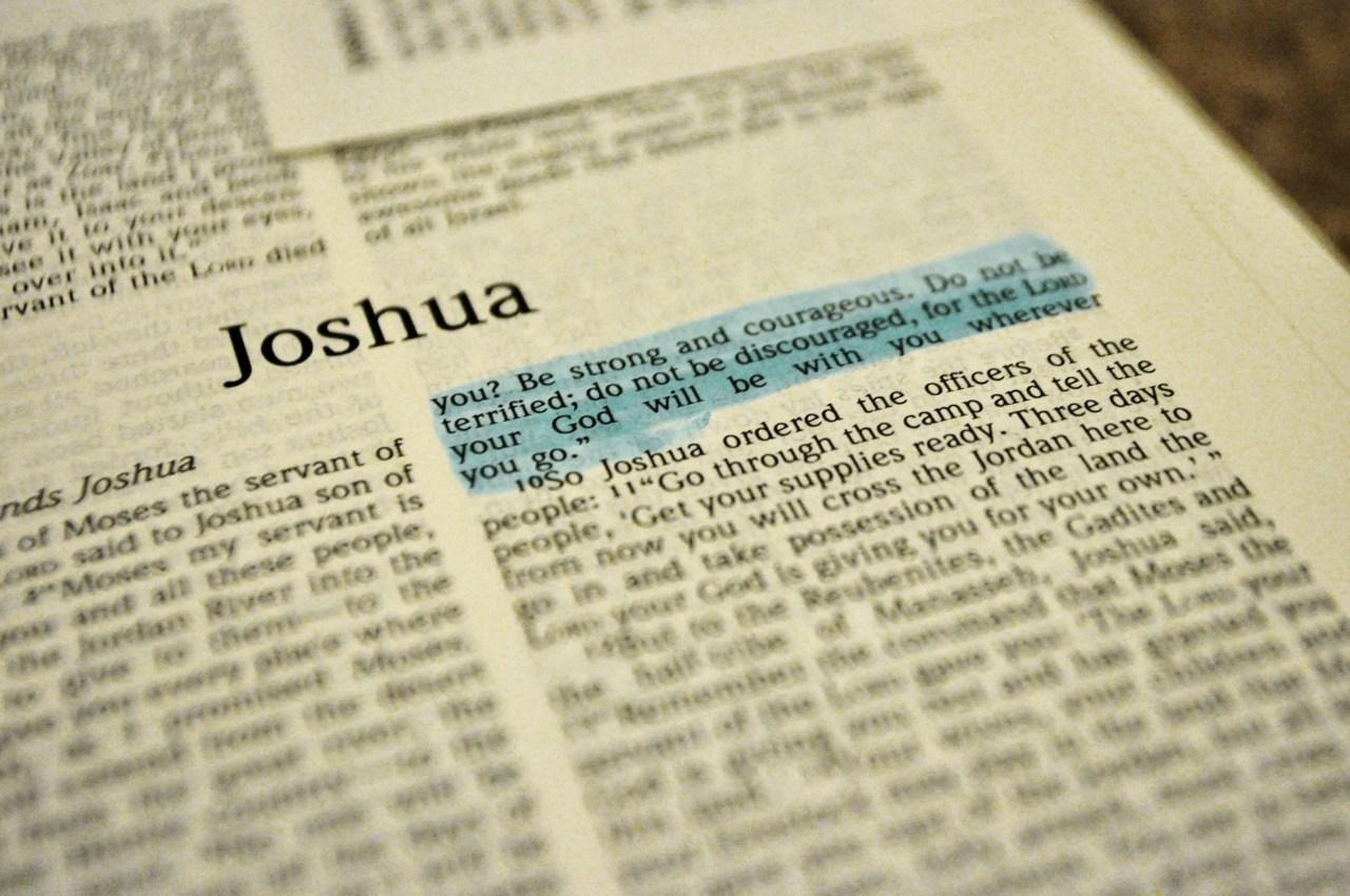 EL Antiguo testamento en audio Libro Josué