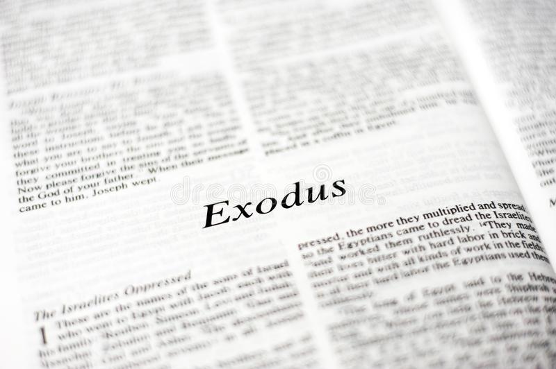 EL Antiguo testamento en Audio Libro de Éxodo