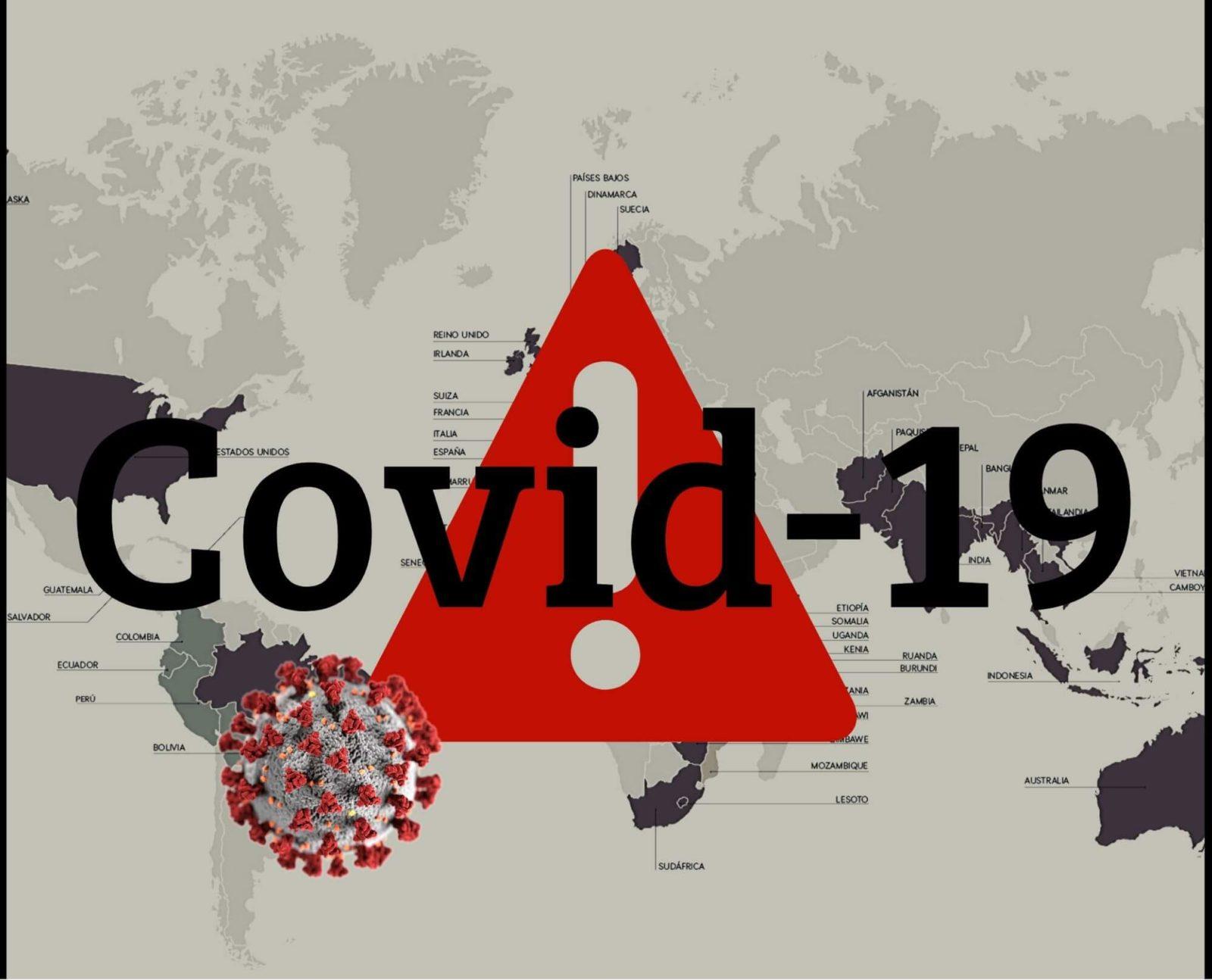 Este mapa te muestra la situación del coronavirus en el mundo en tiempo real