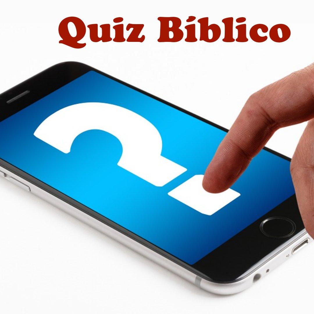 Quiz; Personajes Bíblicos